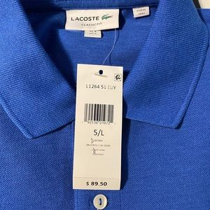 Men's Lacoste casual shirt.  Size L